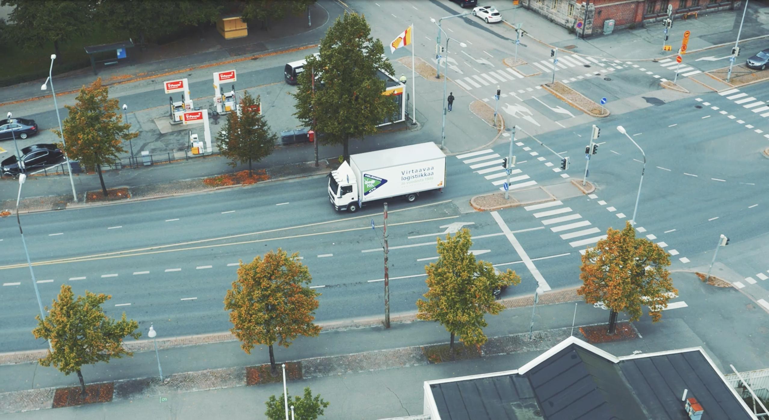 Helsingin KTK:n rekka liikenteessä